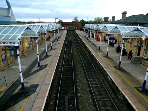 Loughborough Railway Station (in 2010 - before the changes!)