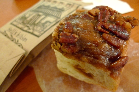 Sticky bun at Amy's Bread, Chelsea Market, New York