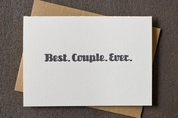 Best Couple Ever card by BSandRS