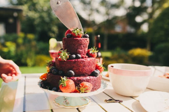 Summer Pudding Cake (photo: Matt Horan)