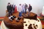 Anish Kapoor inspired cake
