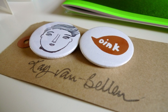 Badges by Kay van-Bellen