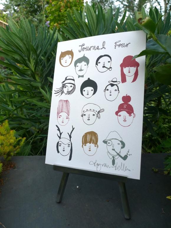 Journal Four by Kay van-Bellen