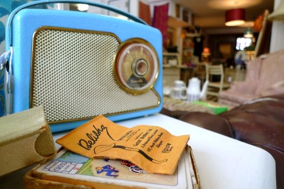 Dansette radio at Becnicks Wonder Emporium
