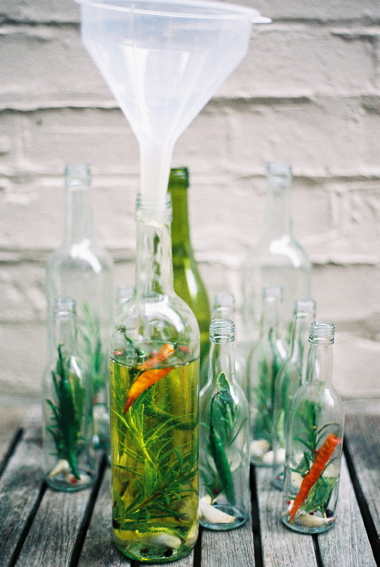 What to do with empty wine bottles - Step