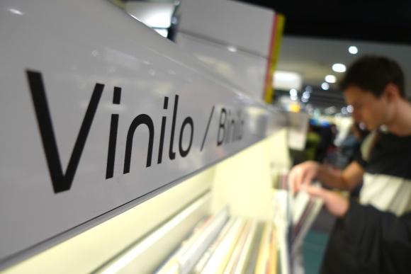 Record shopping in Bilbao