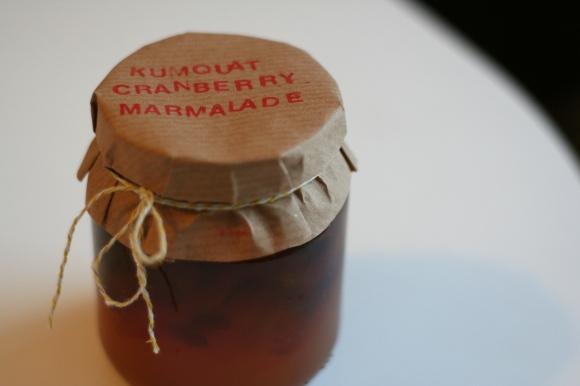 Kumquat cranberry marmalade