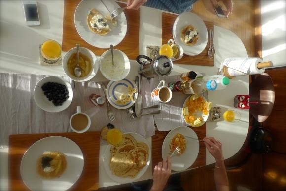B Tuesday breakfast
