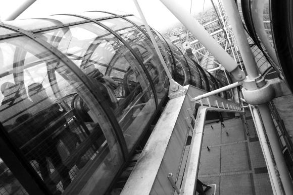 Centre Pompidou escalator