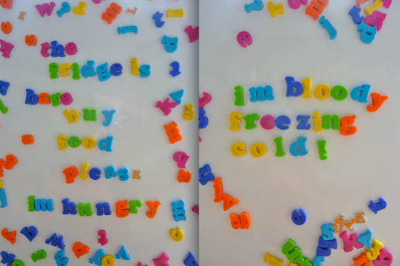 fridge letters