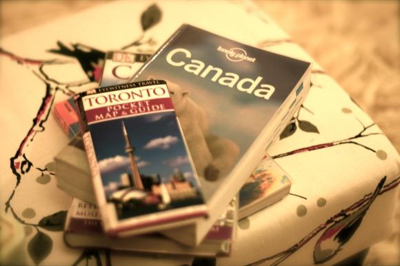 Canada guide books