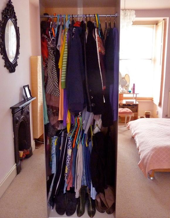 space saving wardrobe