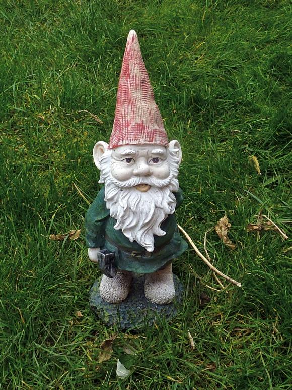 Terrance the garden gnome