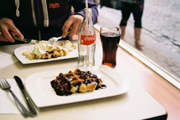 waffle tasting-before
