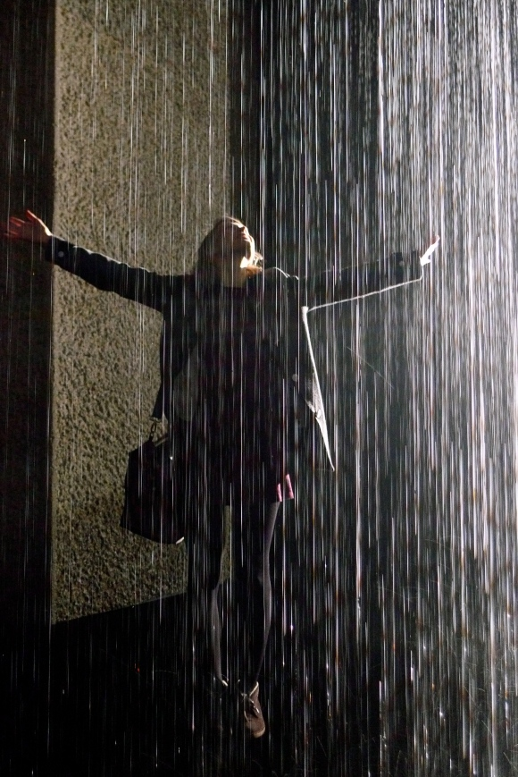 The Rain Room at The Barbican