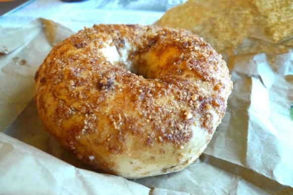 Tim Horton's bagel