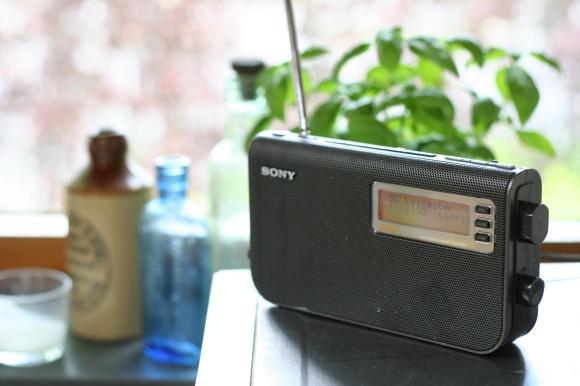 Radio in B's kitchen