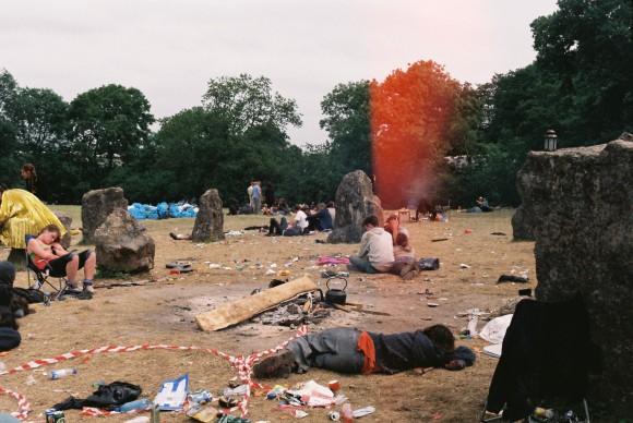 the stone circle, monday morning