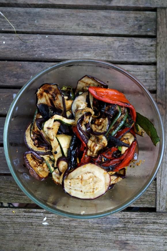 char grilled veg