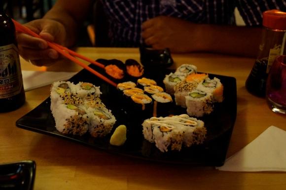 sushi at little tokyo