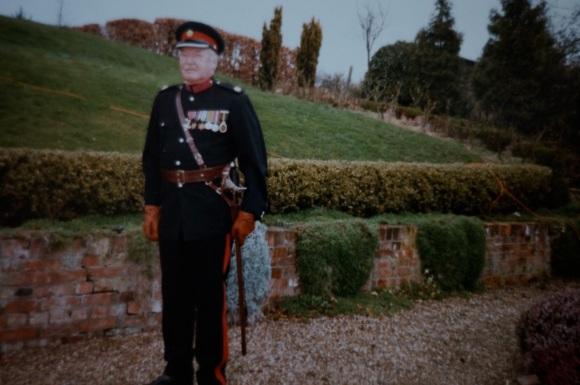 Jack in deputy lord lieutenant's uniform