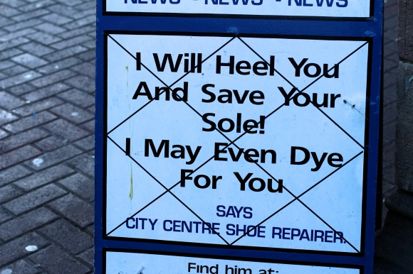 Sign in Leicester Market
