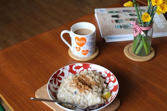 B's breakfast