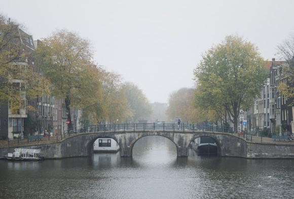 amsterdam, mist