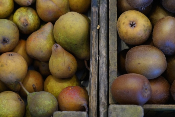 pears on the market