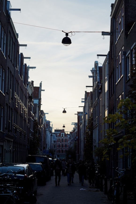 dusk- amsterdam