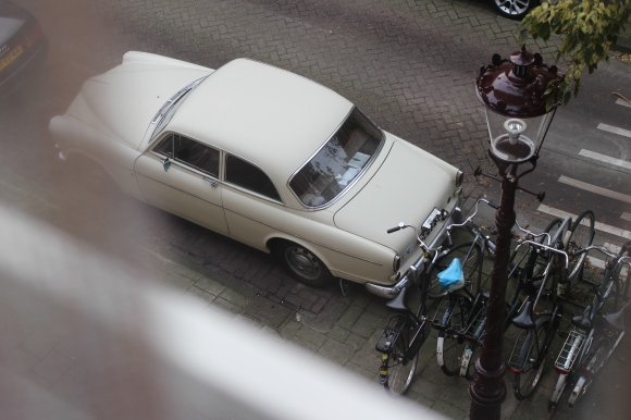 Car on Amsterdam street
