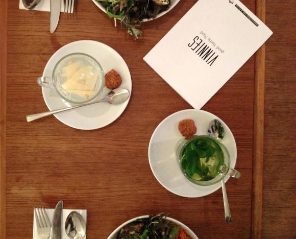 Salad at Vinny's, Amsterdam