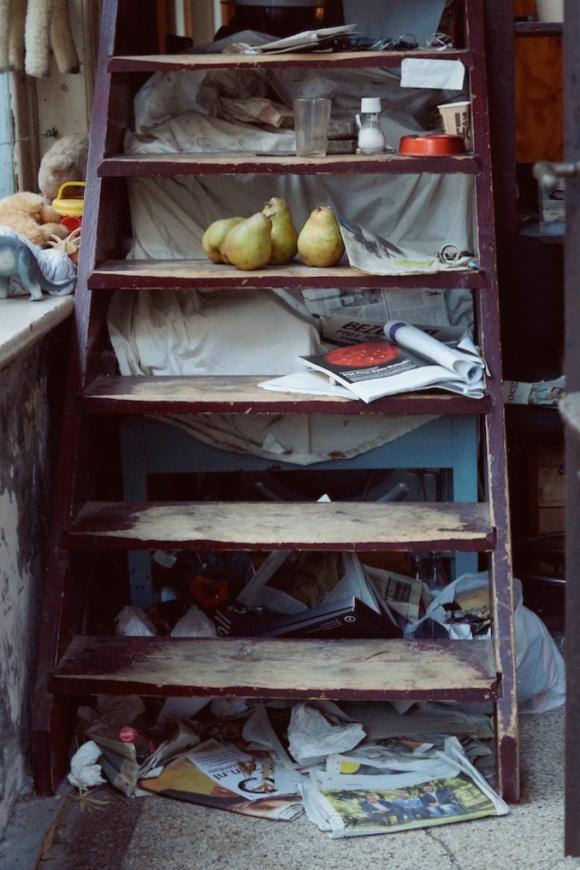 still life- staircase