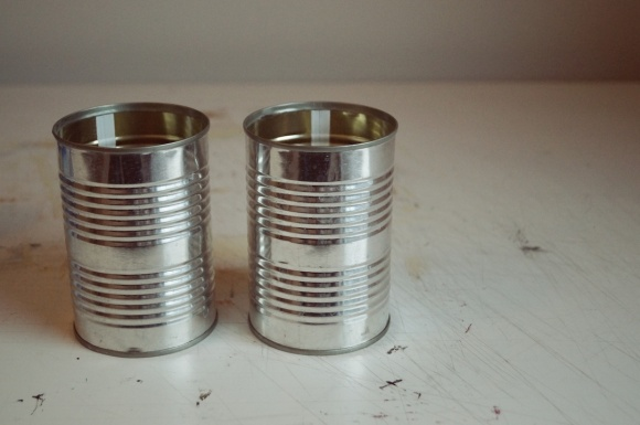 recycle tin cans