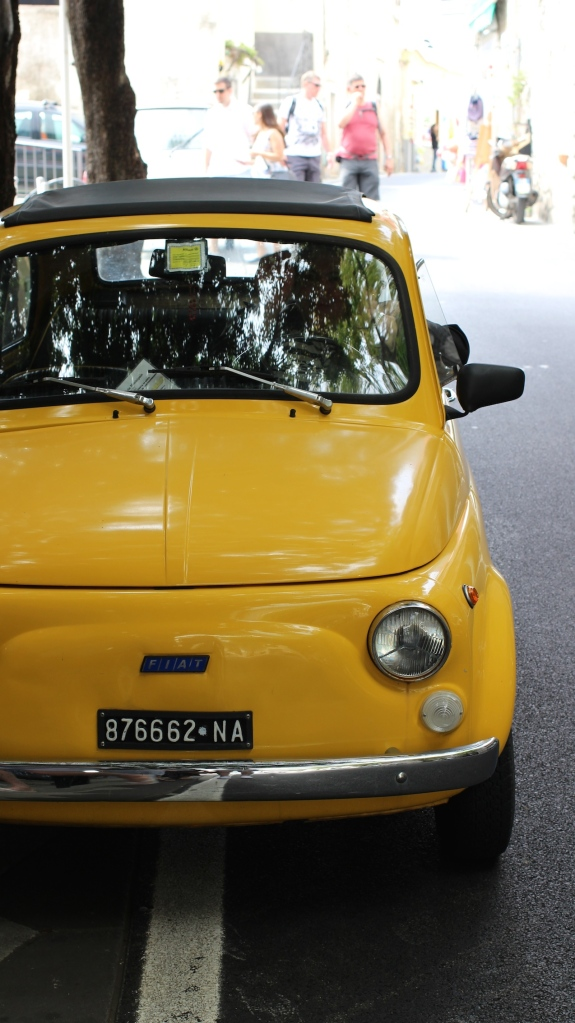 Fiat 500 in Positano