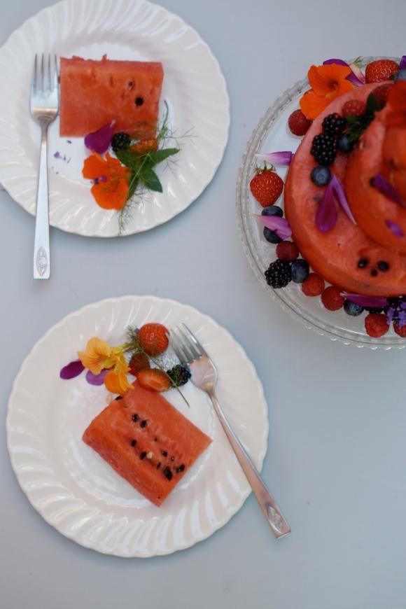 watermelon cake 2