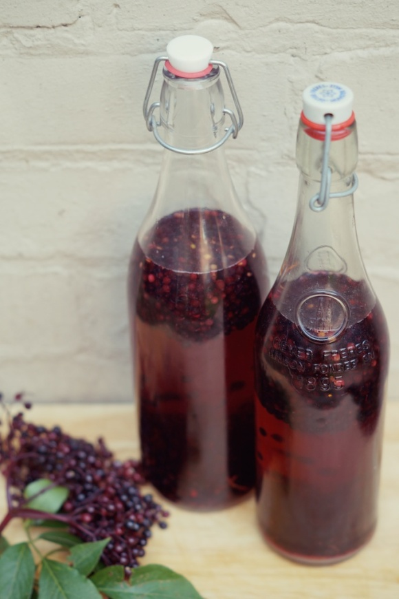 elderberry vodka